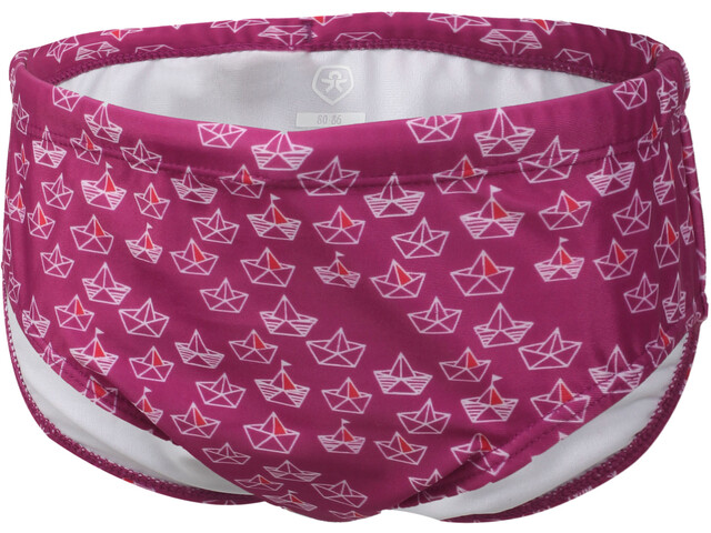 Color Kids Nubing UPF Mini Trunks Mädchen fuchsia red